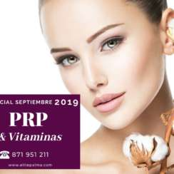 Promoción Septiembre: PRP y Vitaminas
